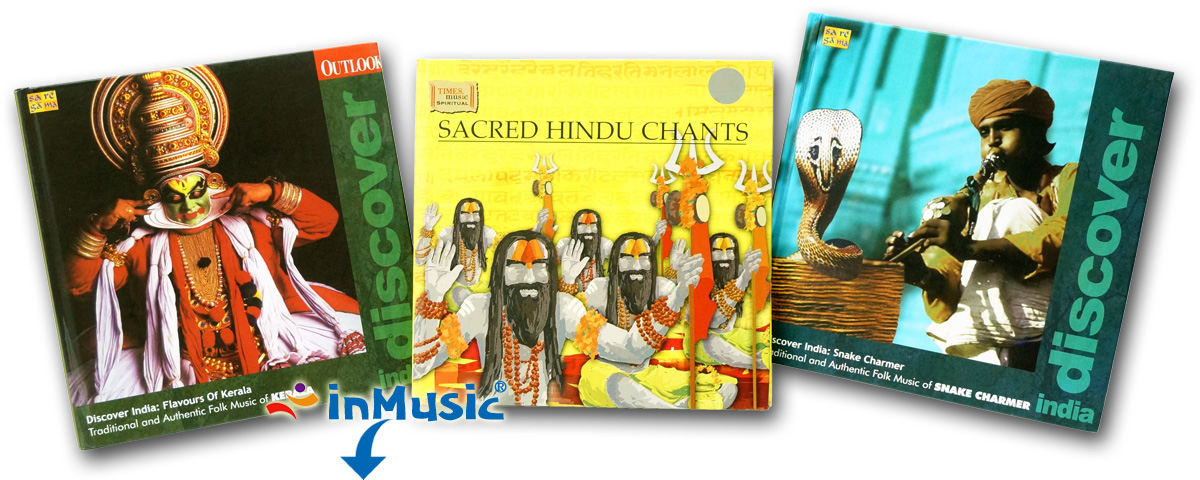 Traditional Folk Music of India CDs